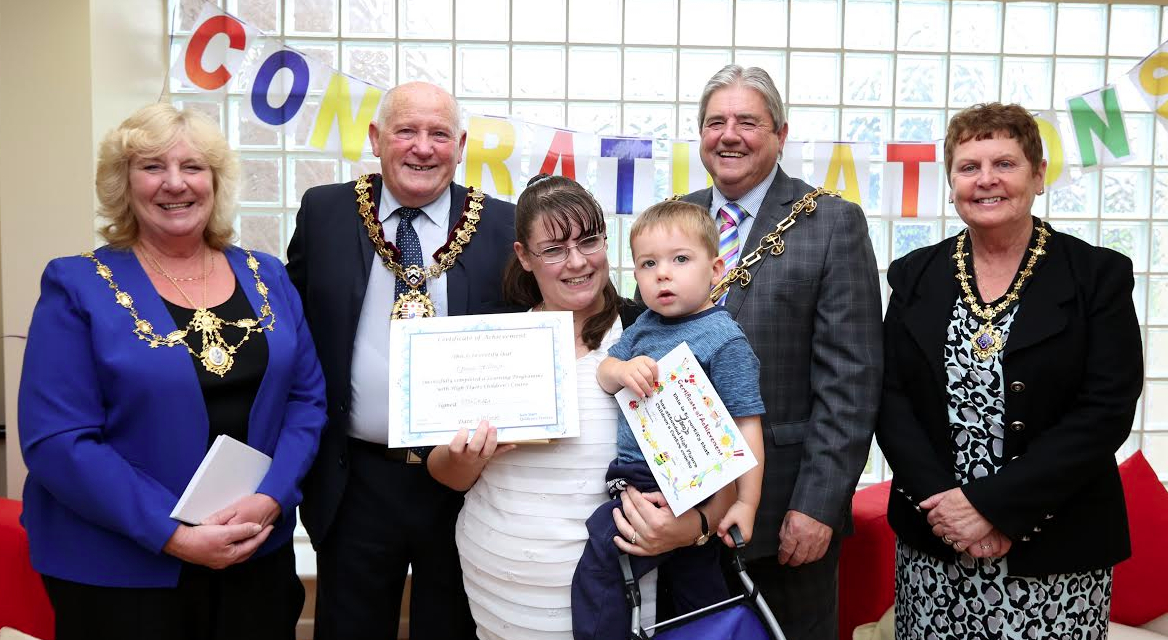 Families are High Flyers Thanks to Children's Centre