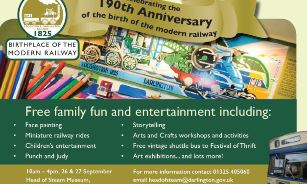 Get on Board for Celebration Weekend