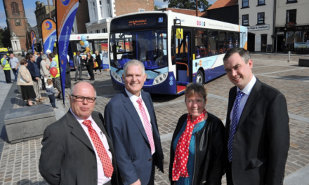 Stagecoach is Dotty about Stockton with Launch of New Bus Fleet