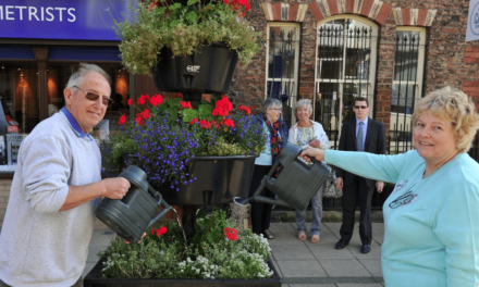 Wind Farm Support Helps Town to look Blooming Marvellous