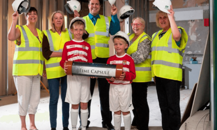 Society Captures Town's Memories in New Cramlington Branch Time Capsule