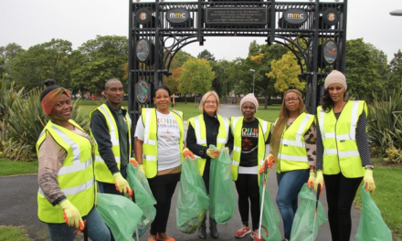 Community Spirit shown by Newport Litter Pickers