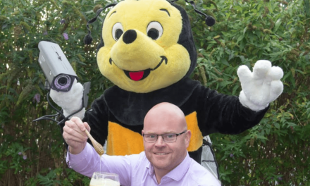 Sweet Taste of Success for Sunderland Firm providing Security for 500,000 Honey Bees