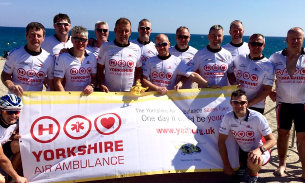 Romanby Roadies take to the Pyrenees for Charity