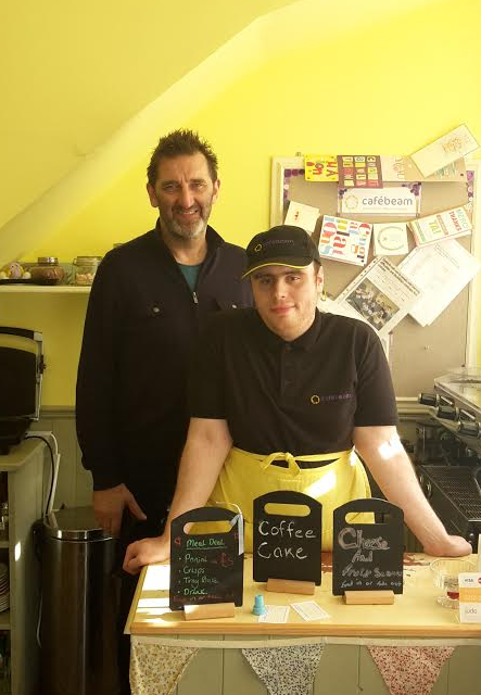 Café Beam Nails the Seal of Approval from North East Celeb