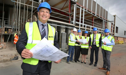 Construction underway at Charles Clinkard's new £3m head office