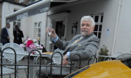 Stokesley businessman snares Snake Davis to raise funds for North Yorkshire village hall