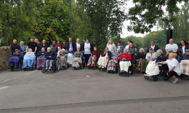 £500 Raised by Teesside Homes for Dementia Fight
