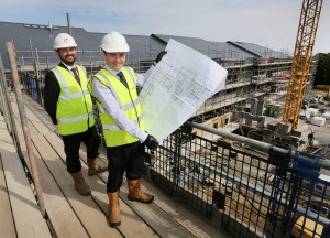 Weavers Court Topping Out pic 2