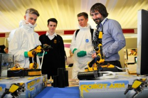 Tees Valley Unlimited held a skills show at Wynyard Hall near Hartlepool to showcase the career and training opportunities available to young people in the region.