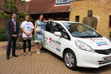 Vertu Honda helps St Oswald's fundraising drive