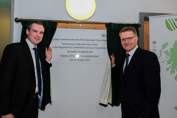 Gateshead: Minister opens £2million central support centre for Vertu Motors PLC