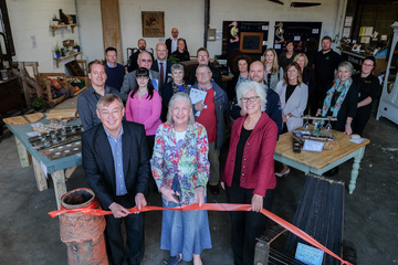 Official opening for project that helps people carve out better career prospects