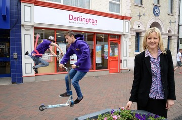 Darlington Building Society helps scooter boys Luke and Nathan to compete in World Scooter Cup