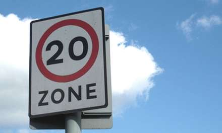 Drivers urged to 'Slow to 20 for Safer Streets'