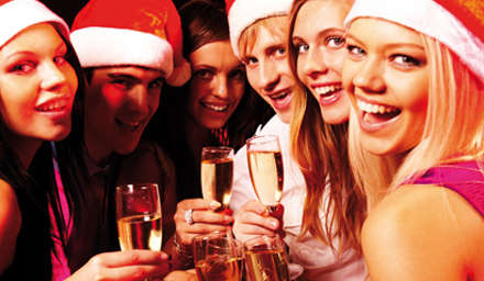 Christmas Bookings up at Newcastle Racecourse