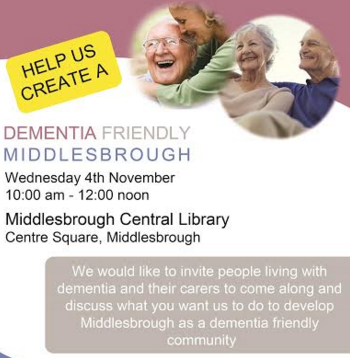 Launch of Dementia friendly Middlesbrough project