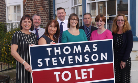 Commercial property experts are in a celebratory mood