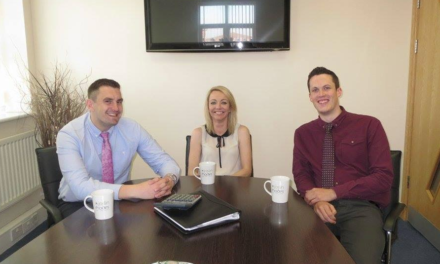Teesside lifestyle financial planners invest in the community's future