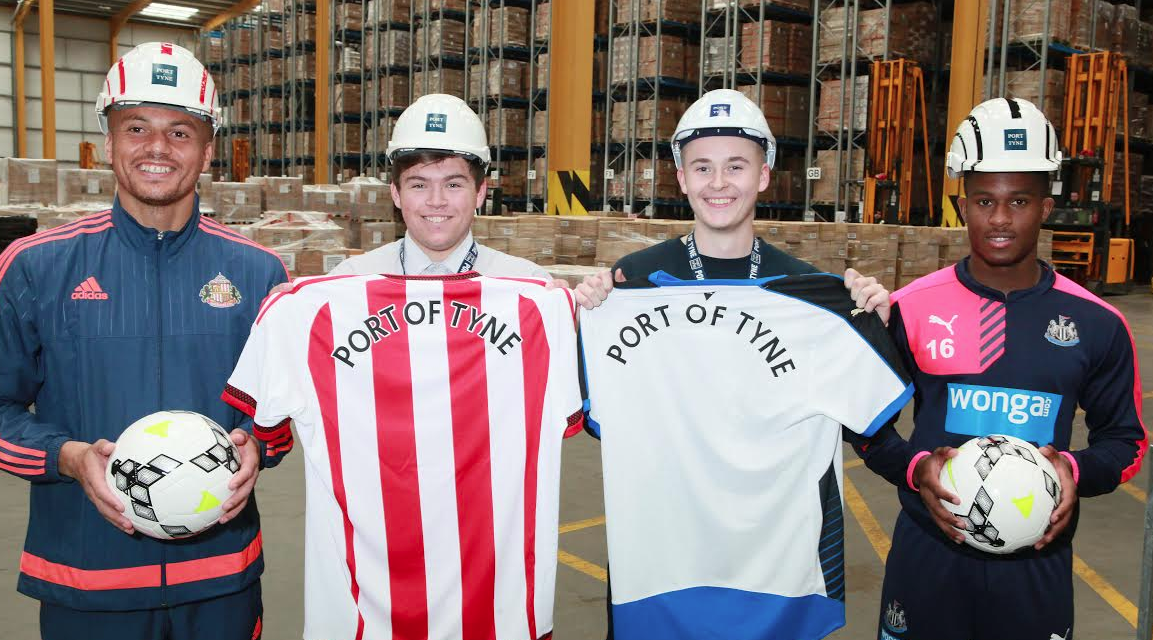Port of Tyne announces Football Foundation Partnerships