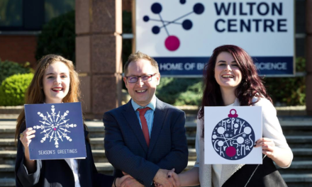 Graphic Design Students blend Science and Seasonal Greetings to Win Festive Challenge