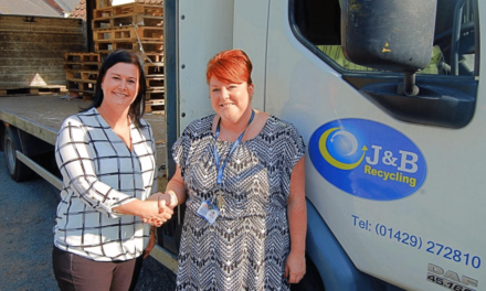 J&B Recycling steps in to help Catcote students' latest project