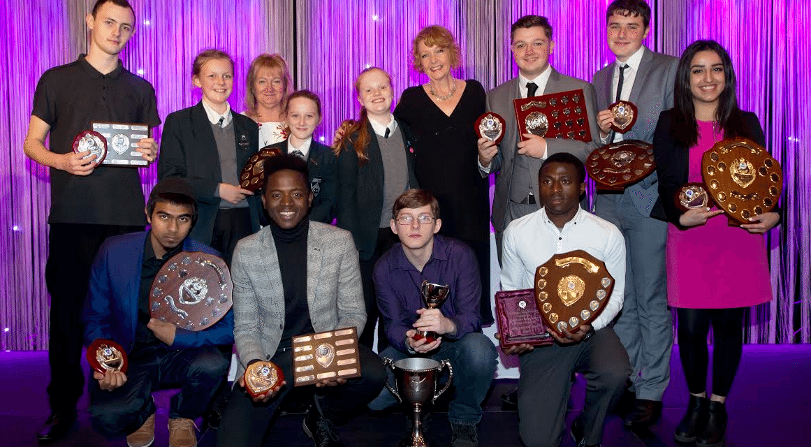 Soap star Charlie rewards Excelsior Academy's best of the best