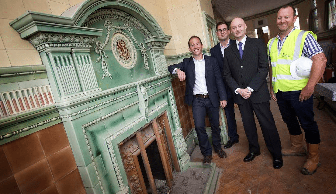 Historic Newcastle Breweries Office Restored