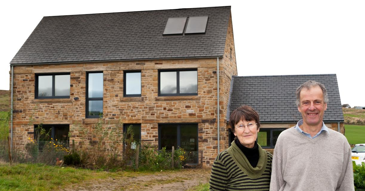 Couple welcome visitors to their award-winning home