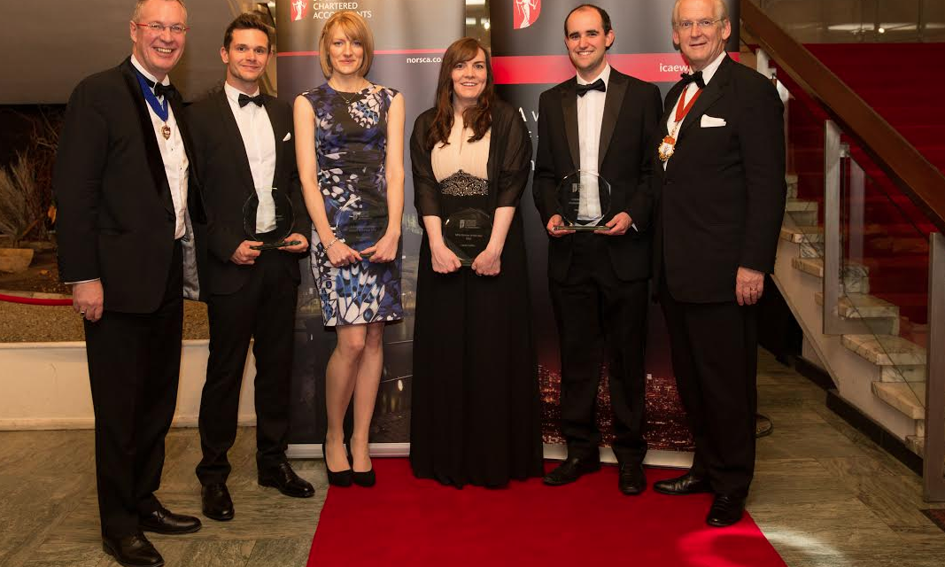 Winning formula for accountancy star