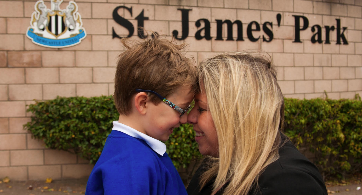 St James' Park gives a special gift to autistic children