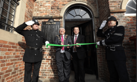 Preston Park Museum marks the official opening of its Victorian police station with a visit from the Police and Crime Commissioner for Cleveland