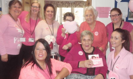 Hartlepool home celebrates Wear It Pink Day