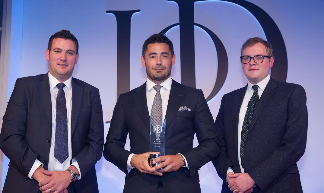 Daniel Robinson wins top honour at national awards ceremony in London