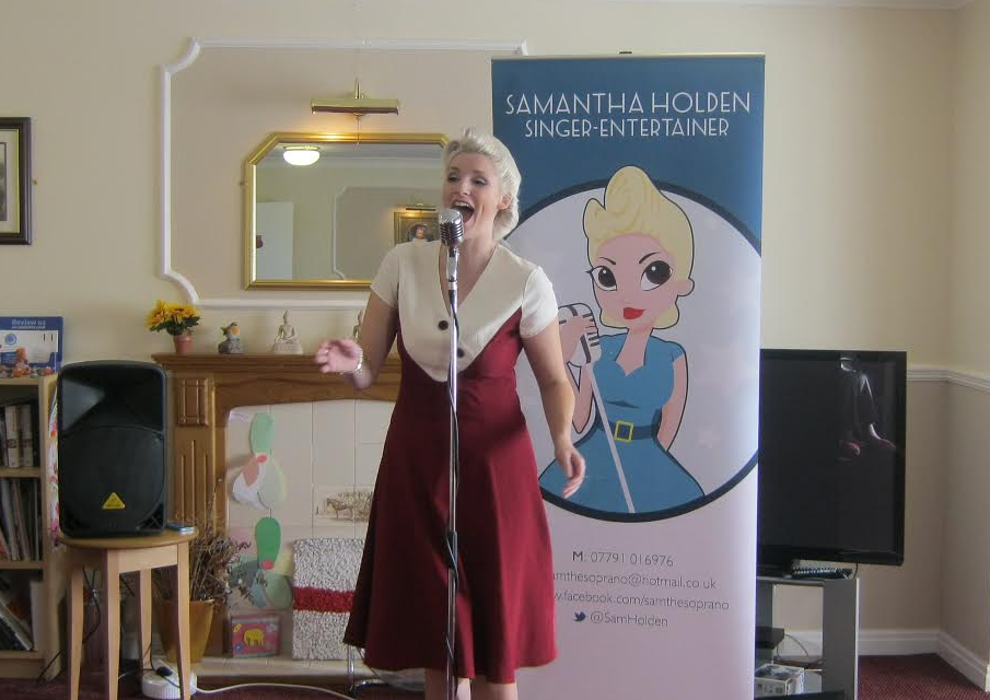 Star of the stage wows Stockton care home residents