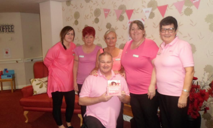 Home host Mad Hatter's Tea Party on Wear it Pink Day