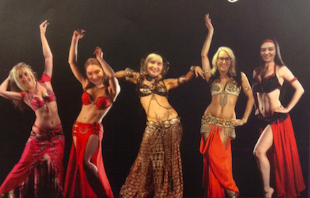 Salon-owner forms belly dancing troupe to fundraise for local adults living with cancer.