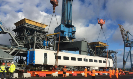 Port of Tyne gives Hitachi Rail Europe a lift