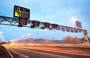 M1 smart motorway near Rotherham enters next stage