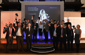The North East celebrates the success of its apprentices and apprentice employers at prestigious awards