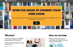 Website launched by government for people who want to buy a house