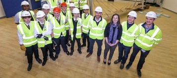 Youngsters build bridges to careers