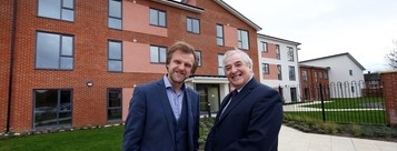 Taken: 12th November 2015 Stockton Borough Council Cllr Bob Cook is going with Thirteen Martin Hawthorne at new Winford House in Billingham. Photographer/Byline Dave Charnley Photography www.davecharnleyphotography.com