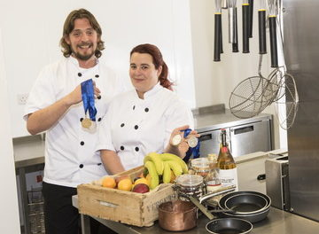 Yarm School chef cooks up gold