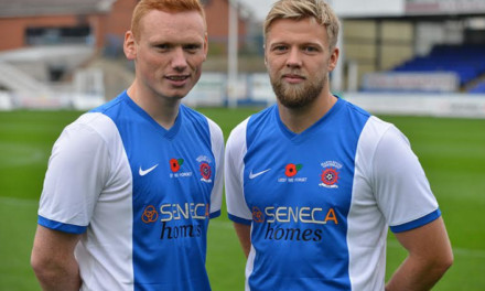 One-Off Shirt Unveiled For Poppy Appeal