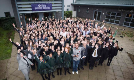 County Durham manufacturing prowess inspiration for school pupil business magnates