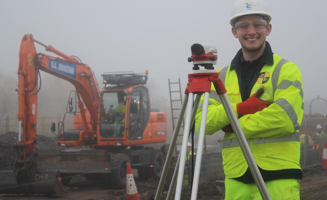 Apprentice takes skills to Africa