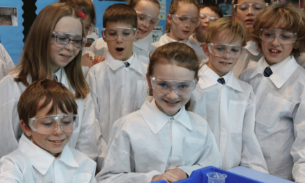 Barnard Castle Prep School's purpose built Science block is leading the way in Primary Education