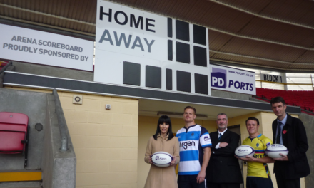 Darlington Mowden Park RFC renews two year sponsorship with PD Ports