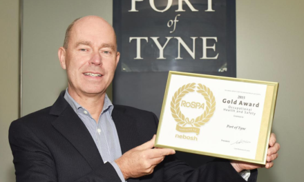 Port of Tyne wins prestigious RoSPA gold award for second year